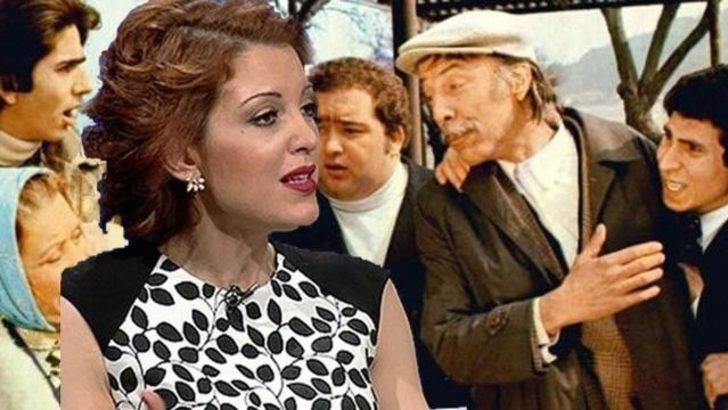Nagehan Alçı Münir Özkul'un filmine verdi veriştirdi