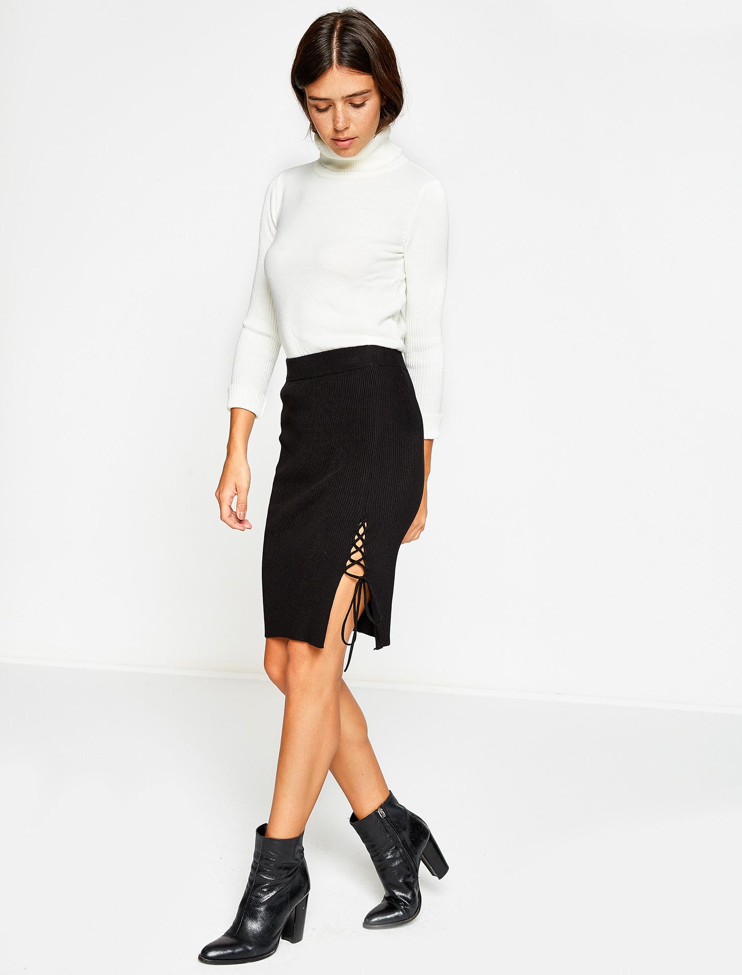 kalem etek - 2018 Kışının En Trend Sokak Modası Kıyafetleri